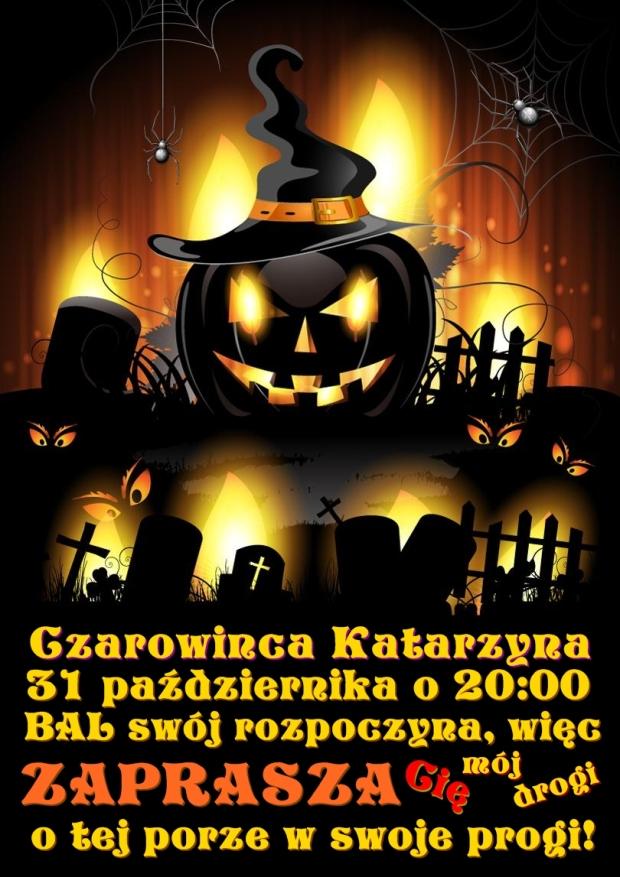 Diy Zaproszenia Na Halloween Party